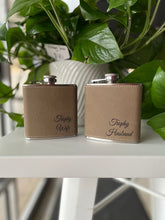 Load image into Gallery viewer, Hip Flask - Faux Leather