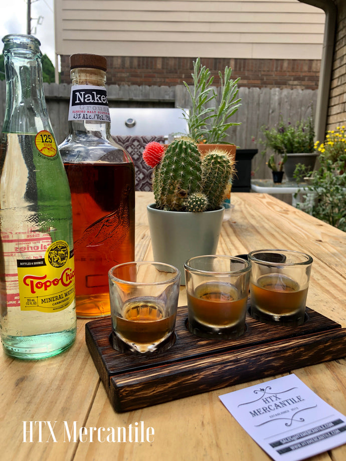 Whiskey/Tequila Tasting Flights