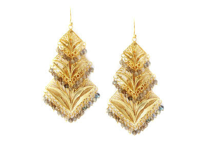 Cascading Filigree Earrings