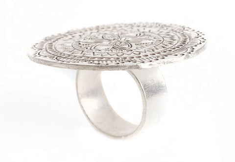 Large Round Ring w/ Design