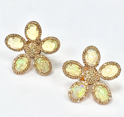 Daisy Opal Earrings