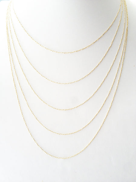 5 Stranded Necklace