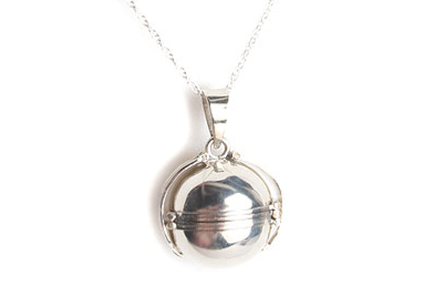 Small Locket Ball Necklace