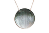 X-Large Round Engraved Shell Necklace