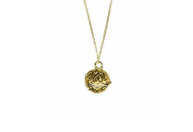 "Round Prayer ""Box"" Locket"