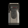 PROFESSIONAL Edition Rechargeable Travel Shaver with Power Burst® and Pop-Up Trimmer, Stainless Steel