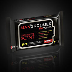 MANGROOMER Biz Wipes - Flushable Moist Personal Man Wipes Engineered for Men