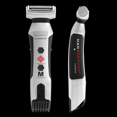 PLATINUM PRO Body Groomer with Shock Absorber Flex Neck and Body Groomer Head