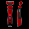 LITHIUM MAX® Body Groomer and Trimmer with Shock Absorber Flex Head, 7 Settings Trimmer, Power Burst®  and LITHIUM ION Battery