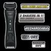 Charging Cradle and Power Adapter for Lithium Max Plus+ and Platinum Pro Body Groomer