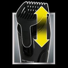 Adjustable Trimmer Guard with 8 Length Settings for Lithium Max Plus+ and Platinum Pro Body Groomer