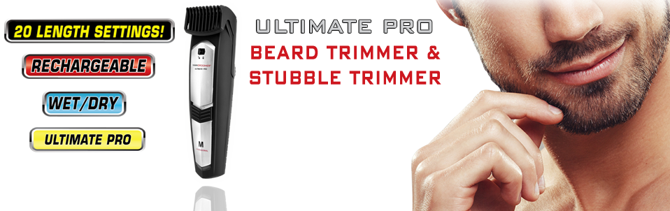 Ultimate Pro Beard Trimmer and Stubble Trimmer