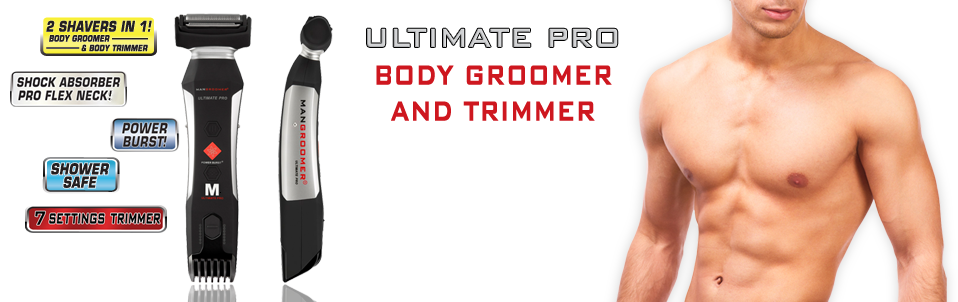 ULTIMATE PRO Body Groomer and Body Trimmer