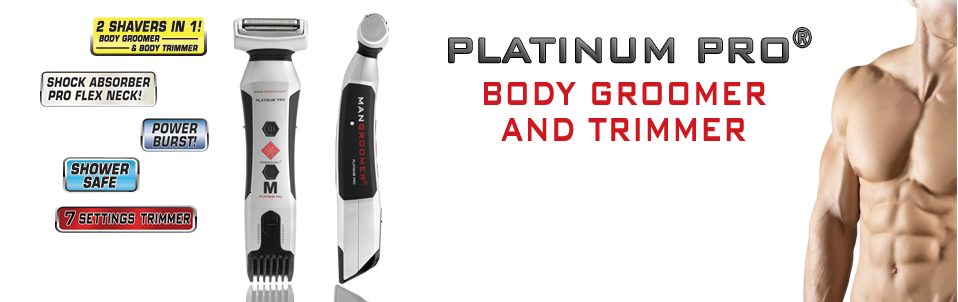 PLATINUM PRO Body Groomer and Trimmer