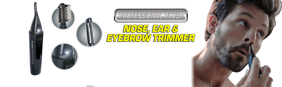 professional plus+ nose, ear and eyebrow trimmer
