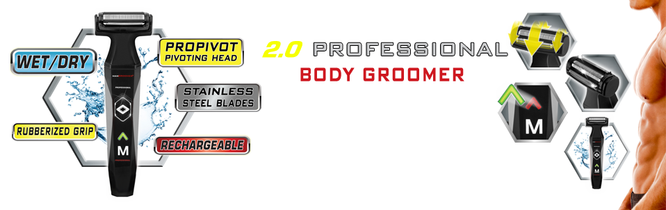 2.0 PROFESSIONAL Body Groomer