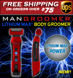 New MANGROOMER LITHIUM MAX Body Groomer and Trimmer and FREE SHIPPING