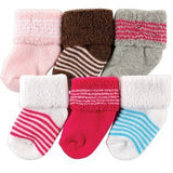 6 Pcs/lot Baby Socks Girl Newborn 0-3 M Warm Winter Infant Socks