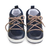 Kacakid Baby Boy Shoes Spring PU Suede Lace Casual Boy