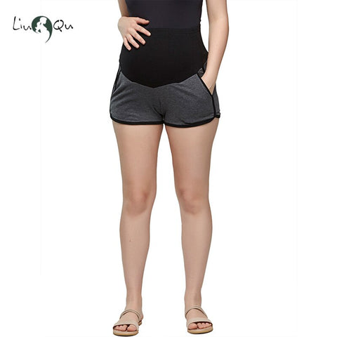 Liu & Qu Maternity Soft Shorts Pants Summer Pregnancy Clothes