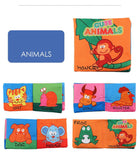 Baby Animal Cloth Book Early Learning Educate Toy