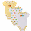 Mother Nest 3 Pieces Baby Bodysuit Infant Jumpsuit Overall Onesies