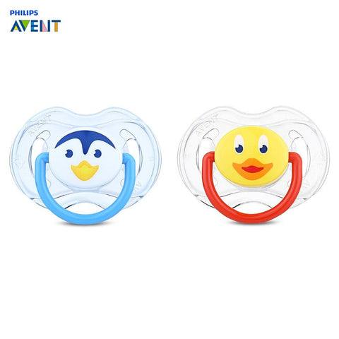 Philips Avent Soother 2pcs Baby Pacifier 0-6 Months BPA Free Silicone