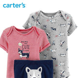 Carters Baby Boy 3Pcs Dog Little Character Set Clothes