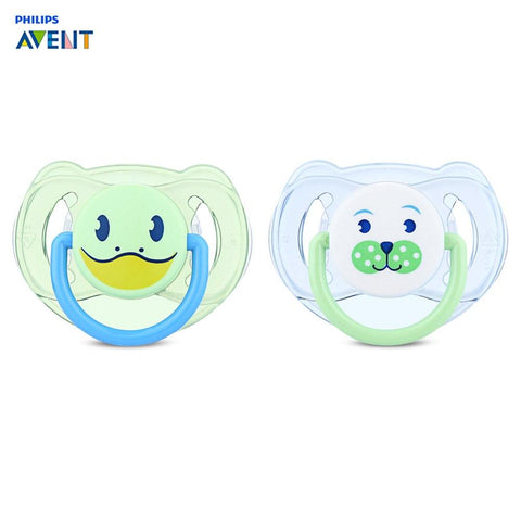 Philips Avent Baby Pacifier Feeding 2pcs Animal Silicone