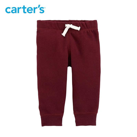 Carters Baby Boy Soft Cotton Functional Pull-On Pants Clothing