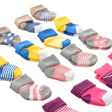 Mother Nest 4 Pairs/lot Baby Socks Newborn 0-12 M Baby Socks Winter