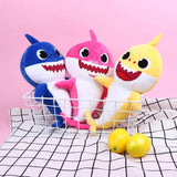 Kacakid Cartoon Sharks Soft Dolls Toys Baby Girl Boy