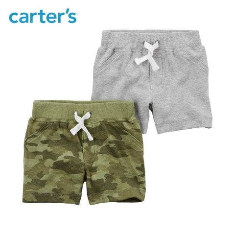 Carters Baby Boy 2-Pack Clothing Boy Pull-On Shorts