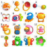 Kacakid Baby Toys Teething Silicone Teethers Rattles Training