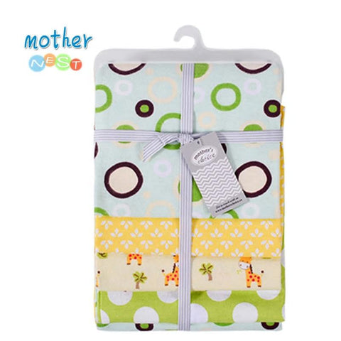 Mother Nest Baby Blankets Swaddles Soft Flannel Receiving