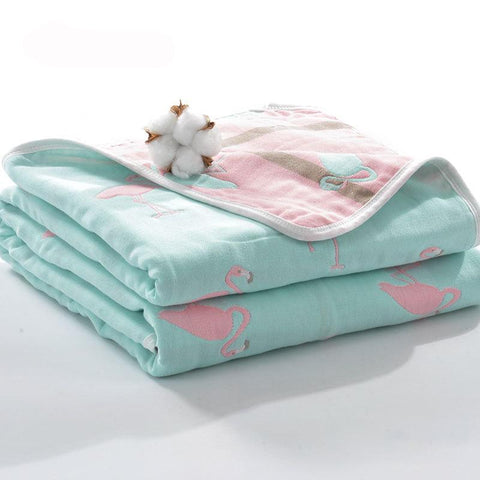 Mother Nest Muslin Baby Swaddle Soft Blanket Bath Towel