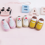 Mother Nest Newly Baby Socks With Rubber Soles Shoes Anti Slip Soft