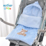 Mother Nest Winter Baby Sleeping Bags Envelope Stroller