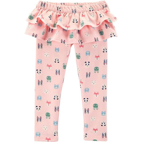Carters Baby Girl Character Ruffle French Terry Pants Clothing