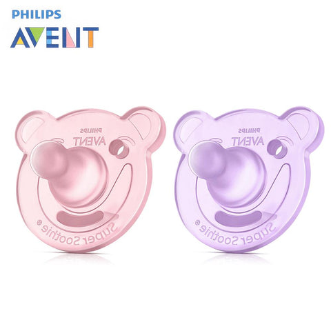 Philips Avent  Dummy Baby Soother 2pcs Silicone Dummy Teether Toddler