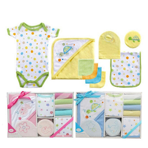 Mother Nest 9Pcs Baby Gift Bath Set Towel Baby Care Set