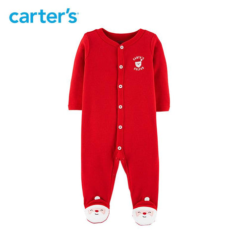Carters Baby Girl Boy Christmas Snap-Up Bodysuits Clothes
