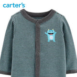 Carters Baby Boy Clothes Monster Snap-Up Clothing
