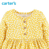 Carters Baby Girl Dress Long Sleeve Floral Clothes
