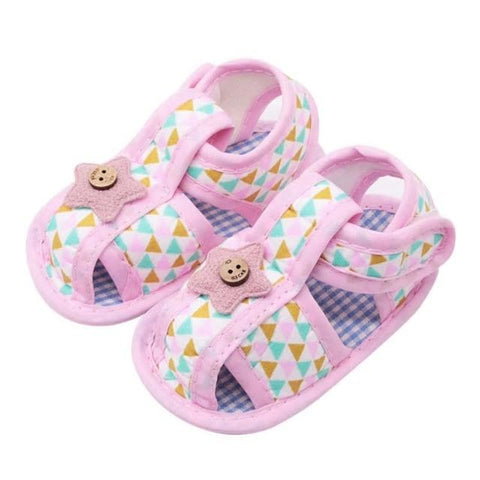 Kacakid Baby Girl Shoes Soft Crib First Walkers Shoes