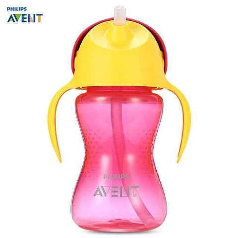 Philips Avent Baby Soft Handle Straw Bottle Training Drinking Cup