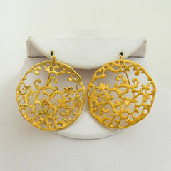 Artisan Circle Earrings