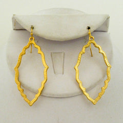 Medaillion Outline Earrings