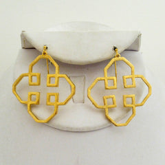Geometric Outline Earrings
