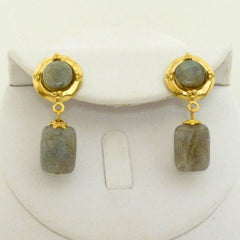 Genuine Labradorite Earrings